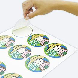 印刷 シール